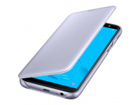 Husa Samsung Galaxy J6 J600, Flip Wallet, Mov, Blister EF-WJ600CVEGWW