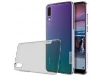 Husa TPU Nillkin Nature pentru Huawei P20, Gri - Transparenta, Blister