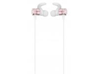 Handsfree Casti Bluetooth HOCO Nimble ES8, Sport, SinglePoint, Alb - Roz, Blister