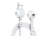 Cablu Date si Incarcare USB la Lightning Baseus Maruko 2.1A, 1 m, Alb, Blister