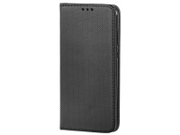 Husa Piele OEM Case Smart Magnet pentru Huawei Honor 10, Neagra, Bulk