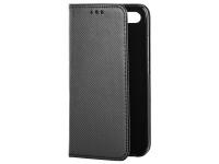 Husa Piele OEM Smart Magnet pentru Samsung Galaxy J6 J600, Neagra, Bulk