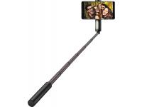 Selfie Stick cu declansator camera Bluetooth Huawei CF33 LED Negru Blister