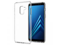Husa Plastic Spigen Liquid Crystal pentru Samsung Galaxy A8 (2018) A530, Transparenta, Blister 590CS22748