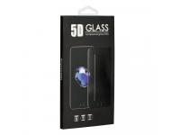 Folie Protectie Ecran OEM pentru Huawei Y7 Prime (2018), Sticla securizata, Full Face, Flexible, Alba, Blister