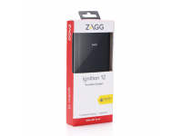 Baterie Externa Powerbank Zagg IFIG12-BK0 12000 mA, 2 x USB, Neagra, Blister