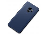 Husa Plastic Cafele UltraSlim pentru Samsung Galaxy S9 G960, Bleumarin, Blister