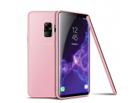 Husa TPU Cafele UltraSlim pentru Samsung Galaxy S9 G960, Roz, Blister