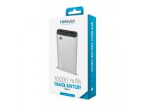 Baterie Externa Powerbank Forever PTB-04L 16000 mA, 2 x USB, Gri, Blister