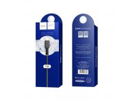 Cablu Date si Incarcare USB la Lightning HOCO Flash X20, 1 m, Negru, Blister