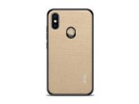 Husa Piele Mofi pentru Xiaomi Mi 8, Aurie, Blister