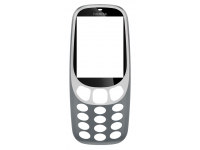 Carcasa fata Gri Nokia 3310 (2017)