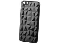 Husa TPU OEM Diamond pentru Apple iPhone 6 Plus / Apple iPhone 6s Plus, Neagra, Bulk