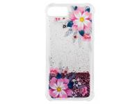 Husa TPU OEM Liquid Flower pentru Apple iPhone 7 / Apple iPhone 8, Multicolor, Bulk
