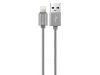 Cablu Date si Incarcare USB la Lightning DEVIA MFI, 1.2 m, Gri, Blister