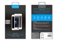 Folie Protectie Ecran Vonuo pentru Apple iPhone 8 Plus, Sticla securizata, Full Face, 5D, Alba, Blister VO-090501006
