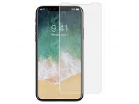 Folie Protectie Fata si Spate Soultech pentru Apple iPhone X, Sticla securizata, Platinum EK607, Blister