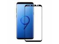 Folie Protectie Ecran Soultech pentru Samsung Galaxy S9 G960, Sticla securizata, Full Face, Platinum EK809S, Neagra, Blister
