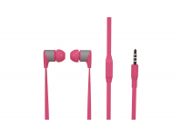 Handsfree Casti In-Ear Soultech Sugar, KK003P, Cu microfon, 3.5 mm, Roz, Blister