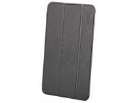 Husa Tableta Piele Enkay Smart pentru Samsung Galaxy Tab E 8.0, Neagra, Bulk