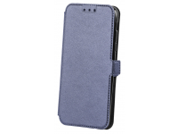 Husa Piele OEM Smart Pocket pentru Apple iPhone 7 / Apple iPhone 8, Bleumarin, Bulk