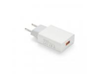 Incarcator Retea USB OEM, 1 X USB, Alb, Bulk