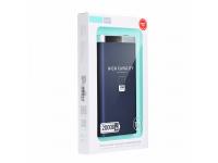 Baterie Externa Powerbank XiPiN T19 20000 mA, 2 x USB - MicroUSB, Albastra, Blister