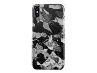 Husa Plastic Burga Black Marble Camo Apple iPhone XS, Blister iPX_SP_ML_11
