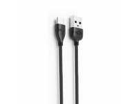 Cablu Date si Incarcare USB la USB Type-C Proda PD-B05a, 1.2 m, Negru, Blister
