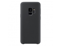 Husa TPU OEM Pure Silicone pentru Samsung Galaxy S9 G960, Neagra, Bulk