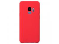 Husa TPU OEM Pure Silicone pentru Samsung Galaxy S9 G960, Rosie, Bulk