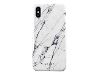 Husa Plastic Burga Satin Apple iPhone X, Alba, Blister iPX_SP_MB_04