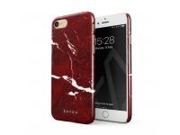 Husa Plastic Burga Iconic Red Ruby Apple iPhone 7 / Apple iPhone 8, Blister iP7_SP_MB_03