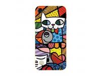 Husa TPU HOCO Cat pentru Samsung Galaxy A8+ (2018) A730, Multicolor, Blister