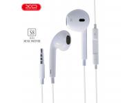 Handsfree Casti In-Ear XO Design XO-S-8, Cu microfon, 3.5 mm, Alb, Blister