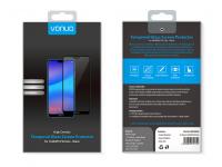 Folie Protectie Ecran Vonuo pentru Huawei P20 Lite, Sticla securizata, Full Face, Neagra, Blister