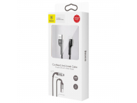 Cablu Date si Incarcare USB la Type-C Baseus Weave, 1 m, Negru, Blister