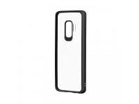 Husa TPU DEVIA Pure pentru Samsung Galaxy S9 G960, Neagra - Transparenta, Blister
