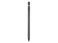 Creion Touch Pen Capacitiv reincarcabil OEM Universal Negru Blister