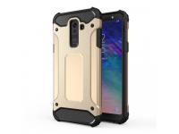 Husa Plastic - TPU OEM Rugged Armor pentru Samsung Galaxy A6+ (2018) A605, Aurie, Bulk