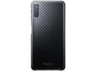Husa Plastic Samsung Galaxy A7 (2018), Gradation Cover, Neagra, Blister EF-AA750CBEGWW