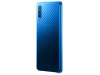 Husa Plastic Samsung Galaxy A7 (2018), Gradation Cover, Albastra, Blister EF-AA750CLEGWW