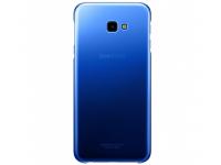 Husa Plastic Samsung J4 Plus (2018) J415, Gradation Cover, Albastra, Blister EF-AJ415CLEGWW
