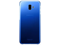 Husa Plastic Samsung J6 Plus (2018) J610, Gradation Cover, Albastra, Blister EF-AJ610CLEGWW