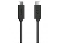 Cablu Date si Incarcare USB Type-C la USB Type-C Sony UCB32, 1 m, Negru, Bulk