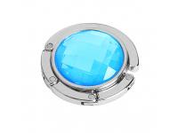 Agatatoare metalica suport pentru geanta, Bleu