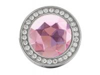 Agatatoare metalica suport pentru geanta, Diamond, Roz