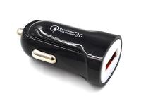 Incarcator Auto USB OEM Quick Charge 3, 1 X USB, Negru, Bulk