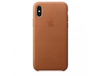 Husa Piele Apple iPhone XS / Apple iPhone X, Maro, Blister AP-MRWP2ZM/A