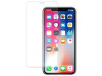 Folie Protectie Ecran Blueline pentru Apple iPhone XS, Sticla securizata, Full Face, Blister